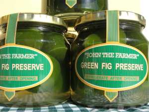 """John the Farmer"" Green Fig Preserve ."