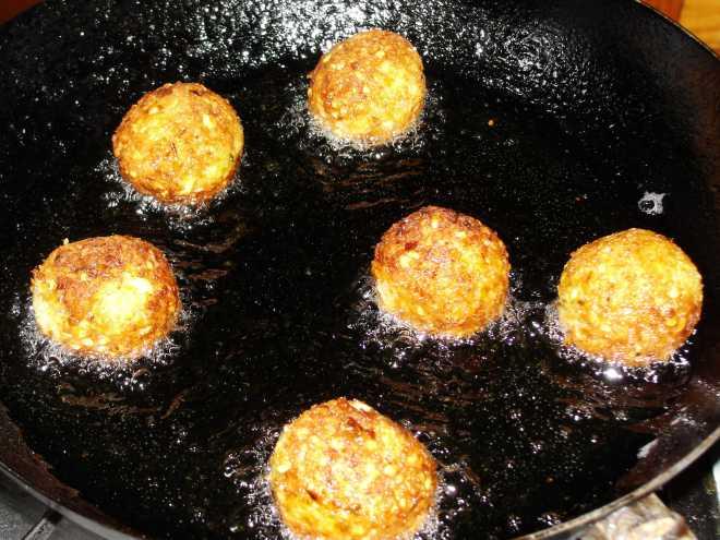 Fried falafal